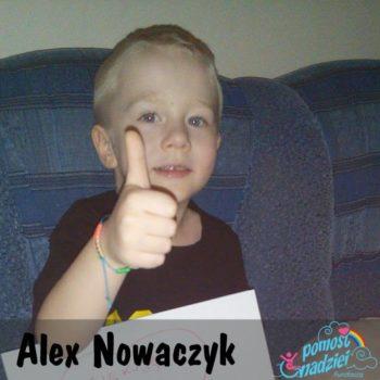 Alex Nowaczyk -brak diagnozy